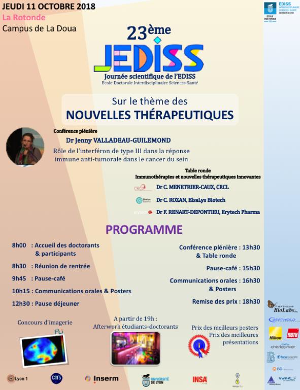 Affiche JEDISS 2018 v4